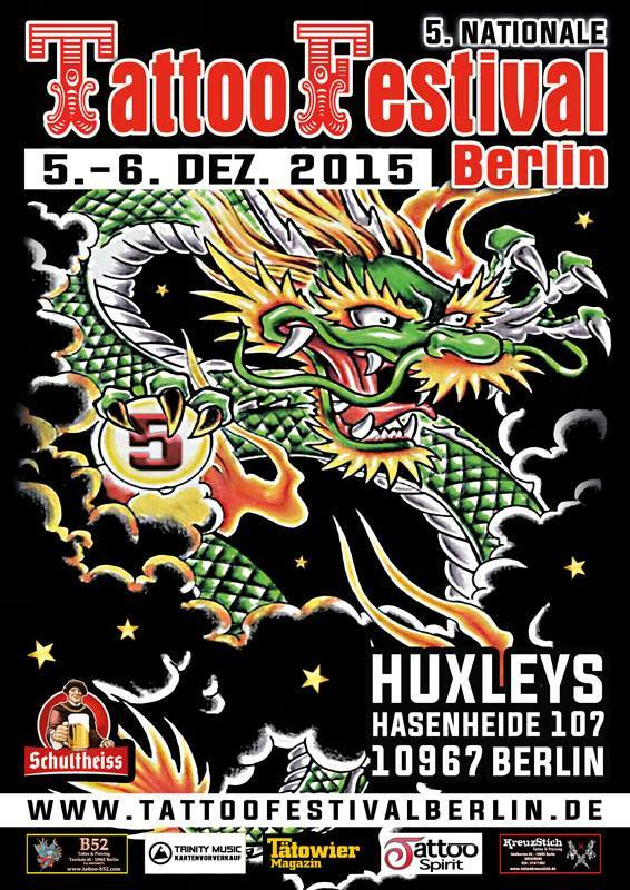 Tattoo Festival Berlin 2015